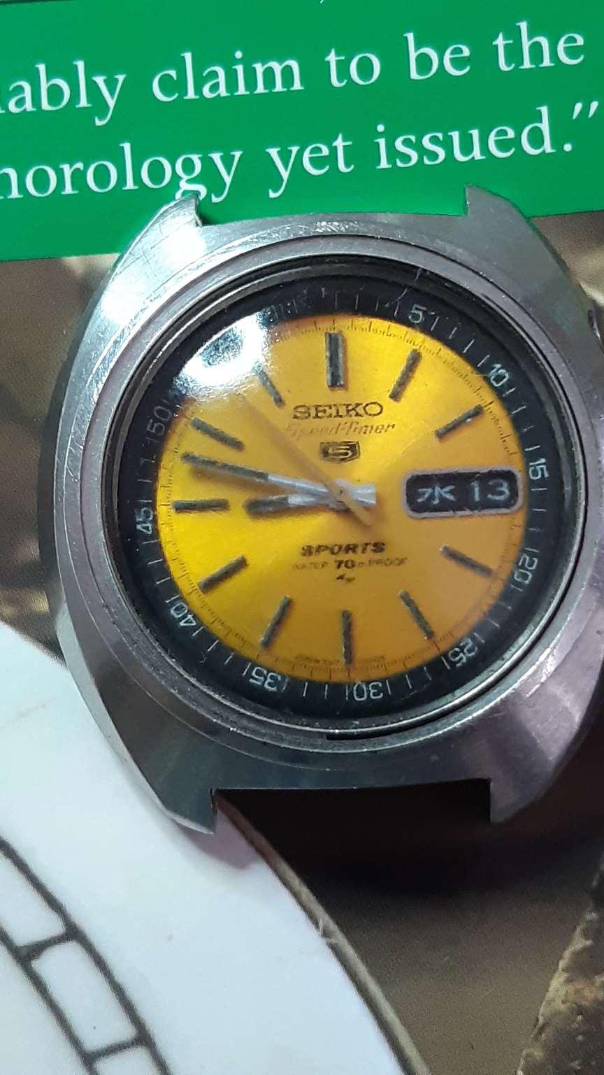 1 X GENUINE  Pusher Seiko 80600239  7017-6000 7017-6030 7017-6040 7017-6050 7017